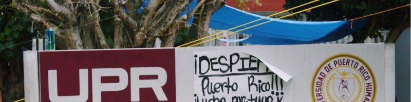 Búhos en Lucha de UPR-Humacao denuncia censura institucional