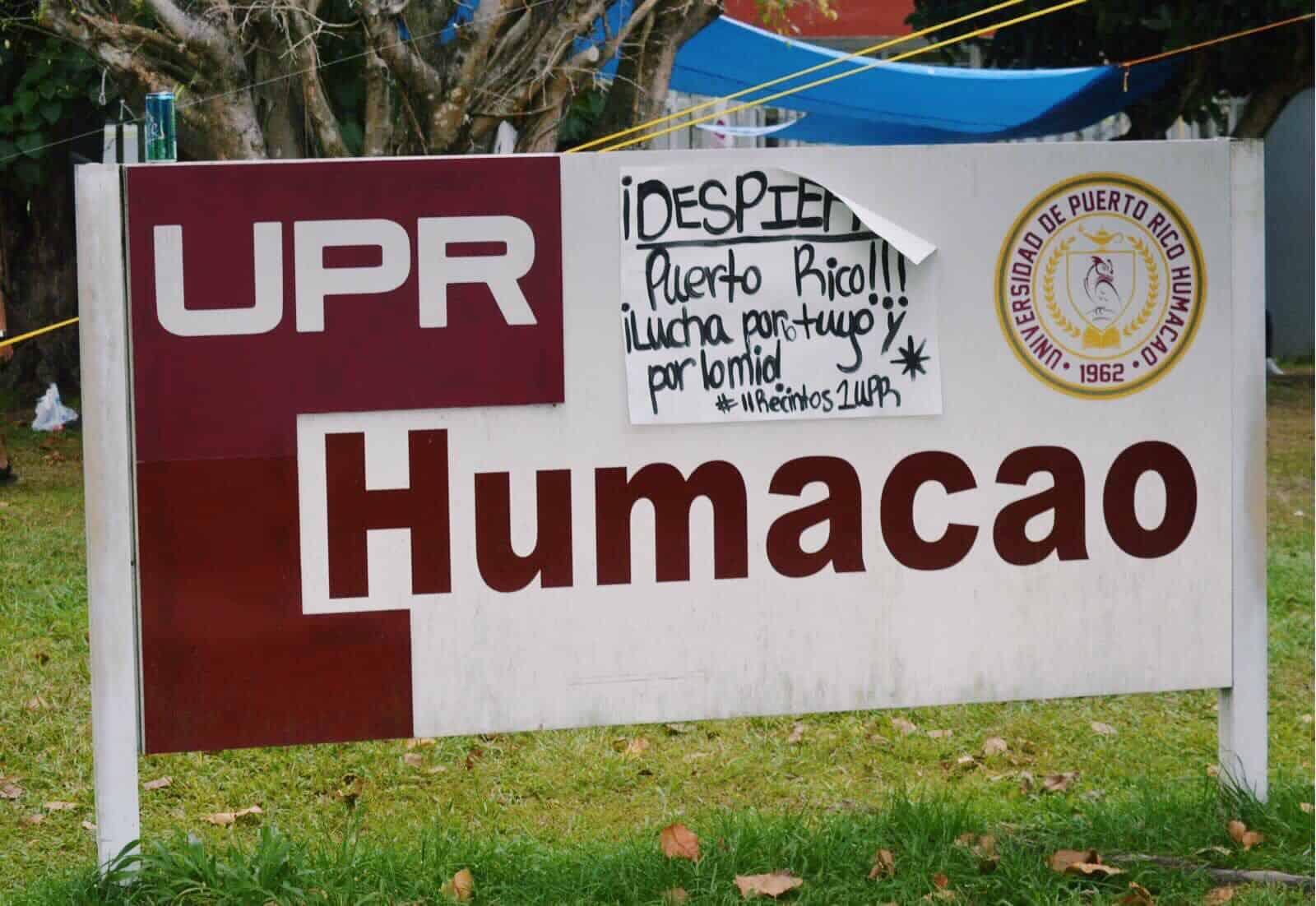 Movimiento estudiantil de UPR Humacao ratifica preacuerdos