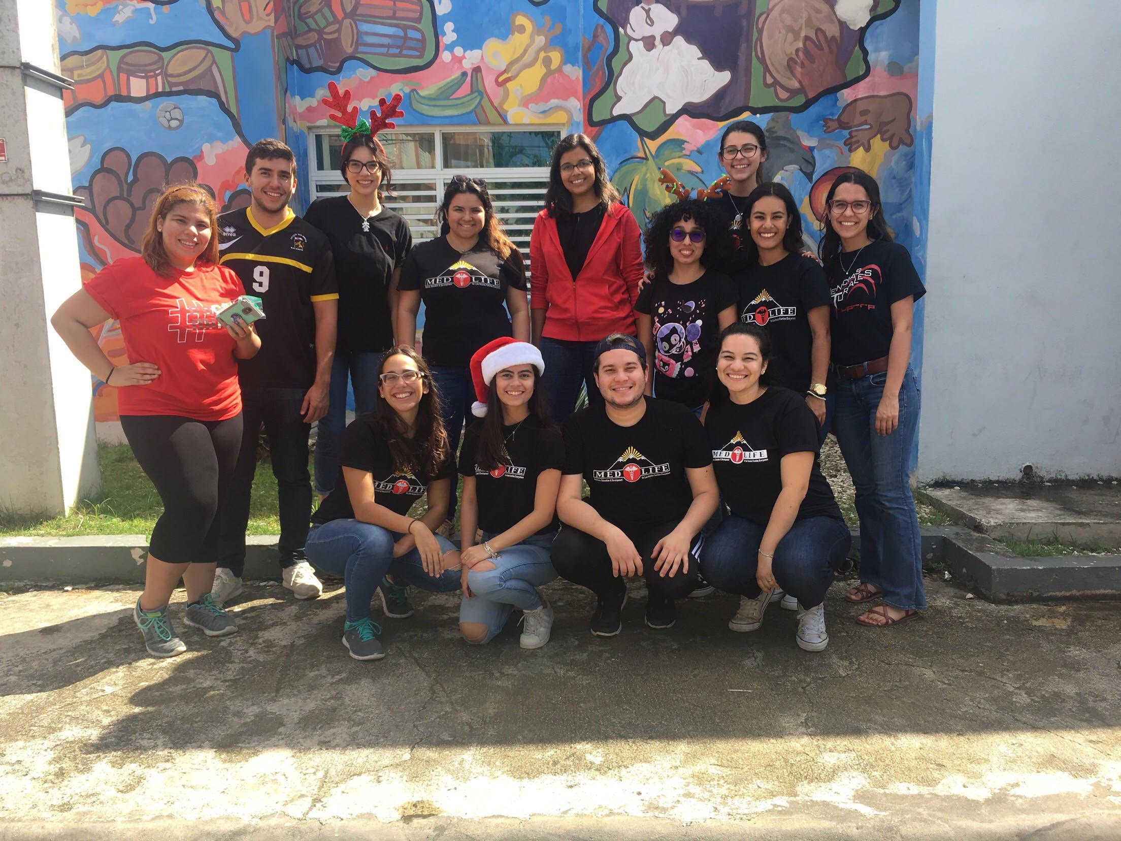 """Medlife UPR-RP celebra """"Navidad en Comunidad"""""""