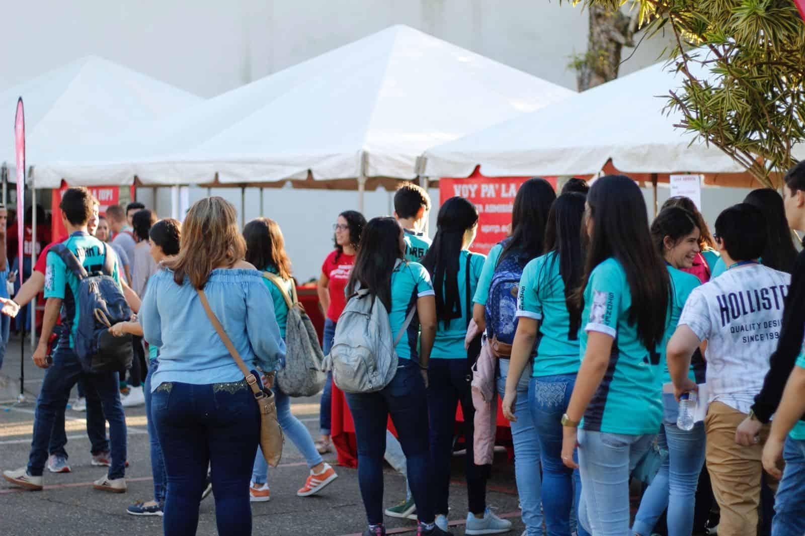 Sobre 5 mil estudiantes de escuela superior visitan la IUPI