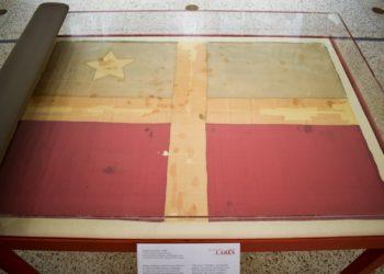 La IUPI expone la única bandera del Grito de Lares