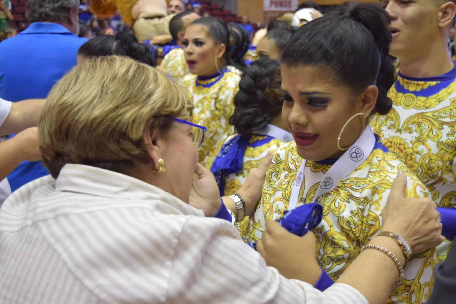 La Pontificia gana el campeonato en baile