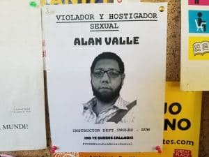 Estudiante del RUM acusa a un instructor de inglés por agresión sexual